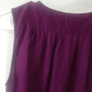 Banana Republic Dresses - Deep purple shift dress from banana republic